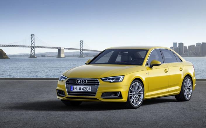 цена на Audi A4 в отдельных комплектациях изменилась от 1 тыс руб